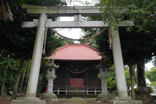 『上羽黒神社』の画像
