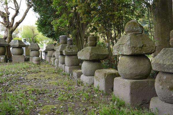 『真壁城主累代の墓地』の画像