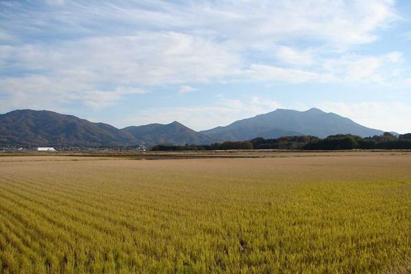 『山並みと田園風景5』の画像