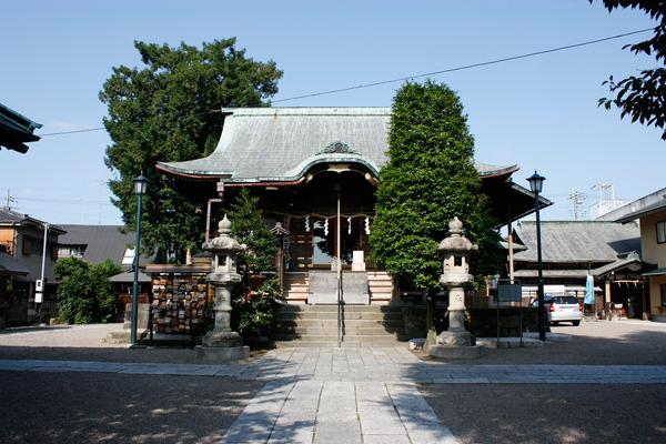 『健田須賀神社写真』の画像
