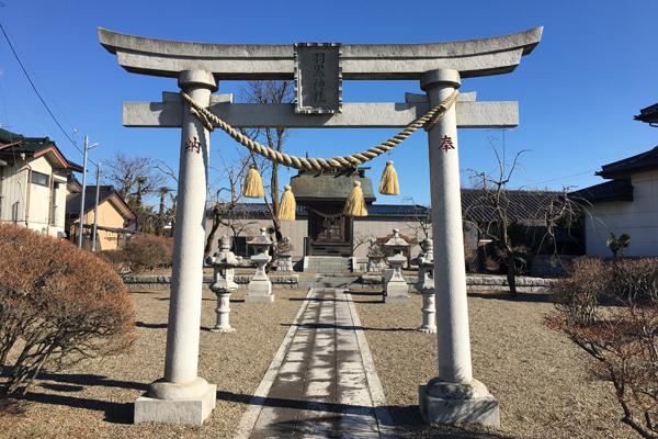 『大根田羽黒神社』の画像