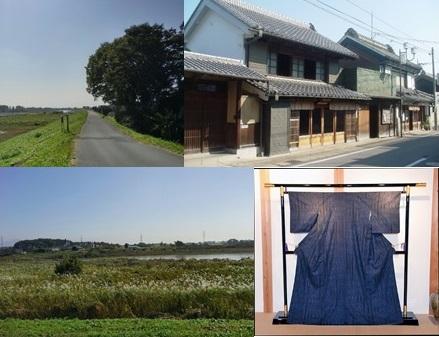 『『結城紬と鬼怒川ルート組み写真』の画像』の画像