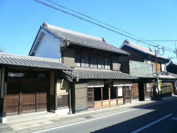 『結城紬店舗街』の画像